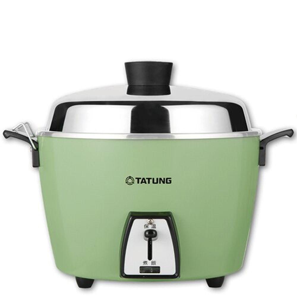 大同 TATUNG - 6人份電鍋 綠色 SUS304不鏽鋼 內鍋-TAC-06L-DG