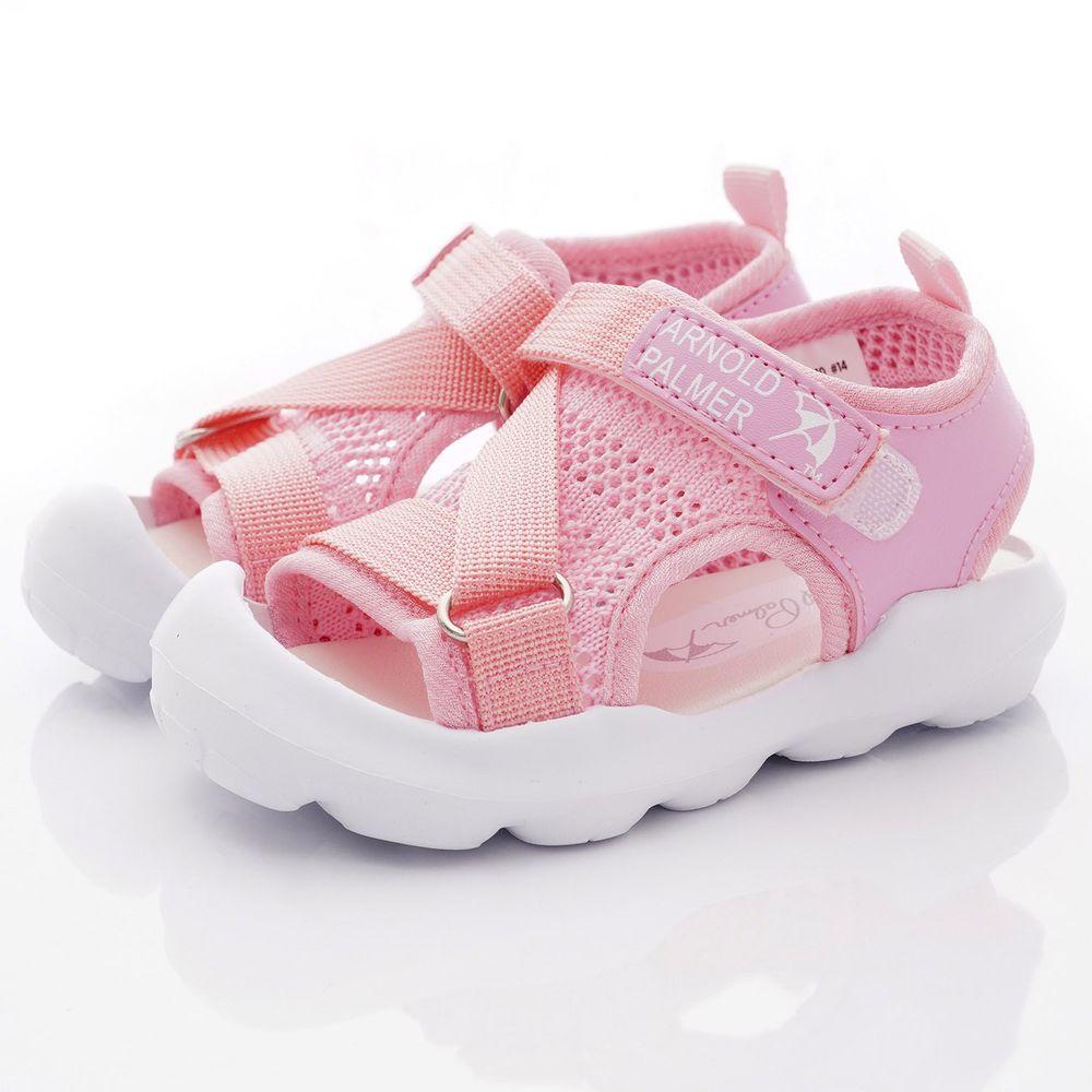 Arnold Palmer 雨傘牌 - 輕量大網眼涼鞋款(小童段)-粉紅