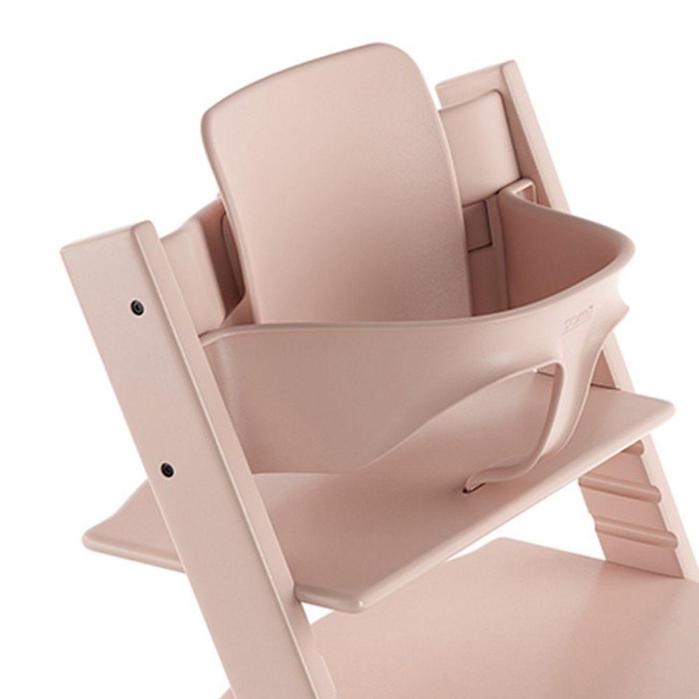 Stokke - Tripp Trapp 成長椅嬰兒套件(不含椅子本體)-落櫻粉