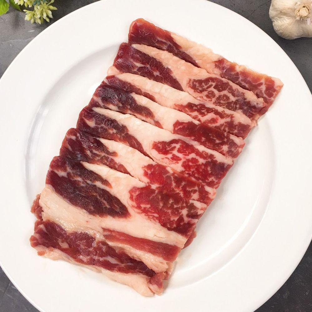 Camaron卡馬龍 - 嚴選-美國安格斯 特選Choice 雪花牛烤肉片 250公克(約6~8片)/包