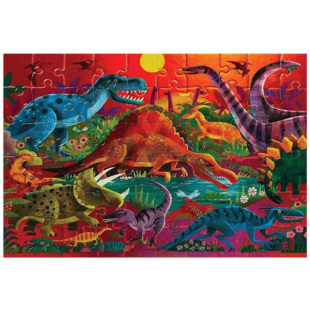 Crocodile Creek - 幻彩雷射拼圖-侏儸紀公園-60片-4歲以上
