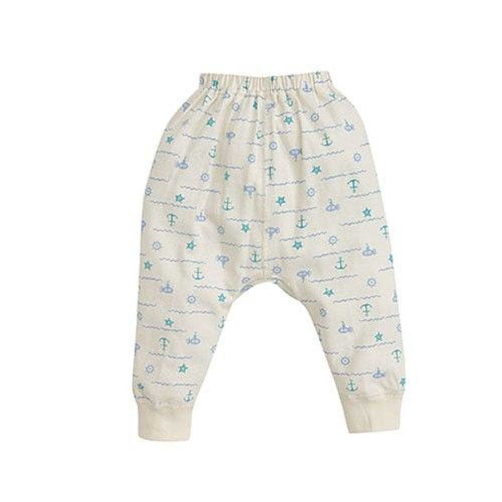 日本 Combi - 初生褲(有機棉)-航海風-米色