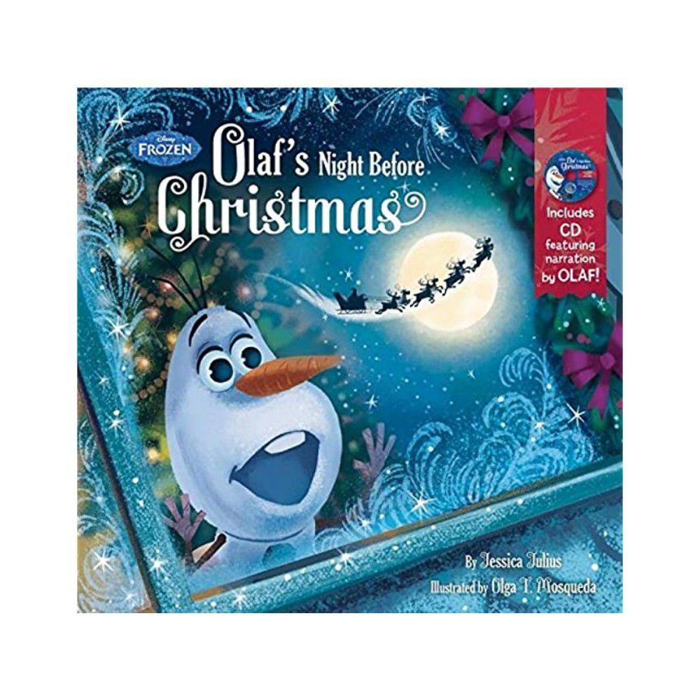 迪士尼系列CD有聲書-Frozen Olaf's Night Before Christmas 冰雪奇緣:雪寶的平安夜