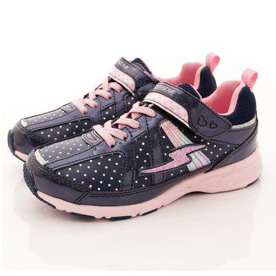 競速機能童鞋-女孩運動機能系列(中大童)-深藍