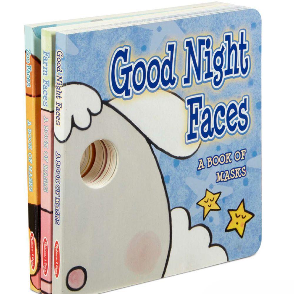 美國瑪莉莎 Melissa & Doug - 逗趣面具書-可愛動物