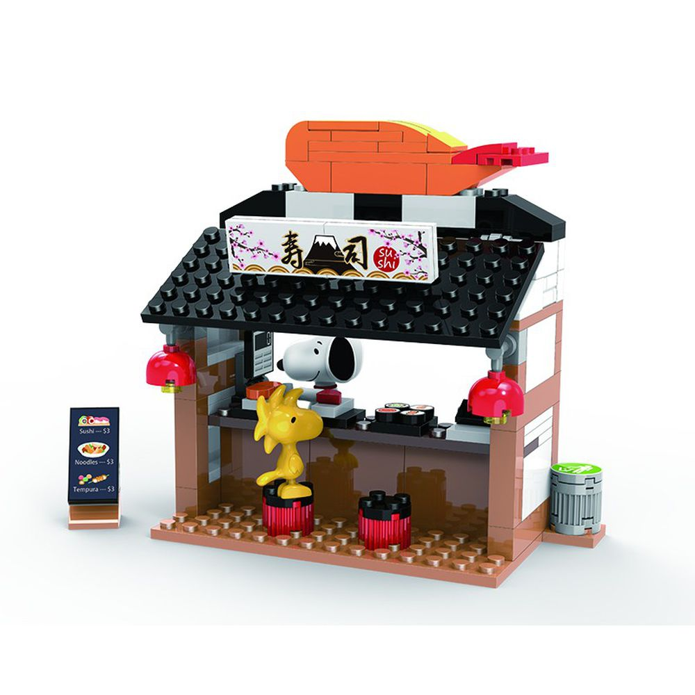 Linoos - 史努比歡樂廣場系列-壽司屋-140片