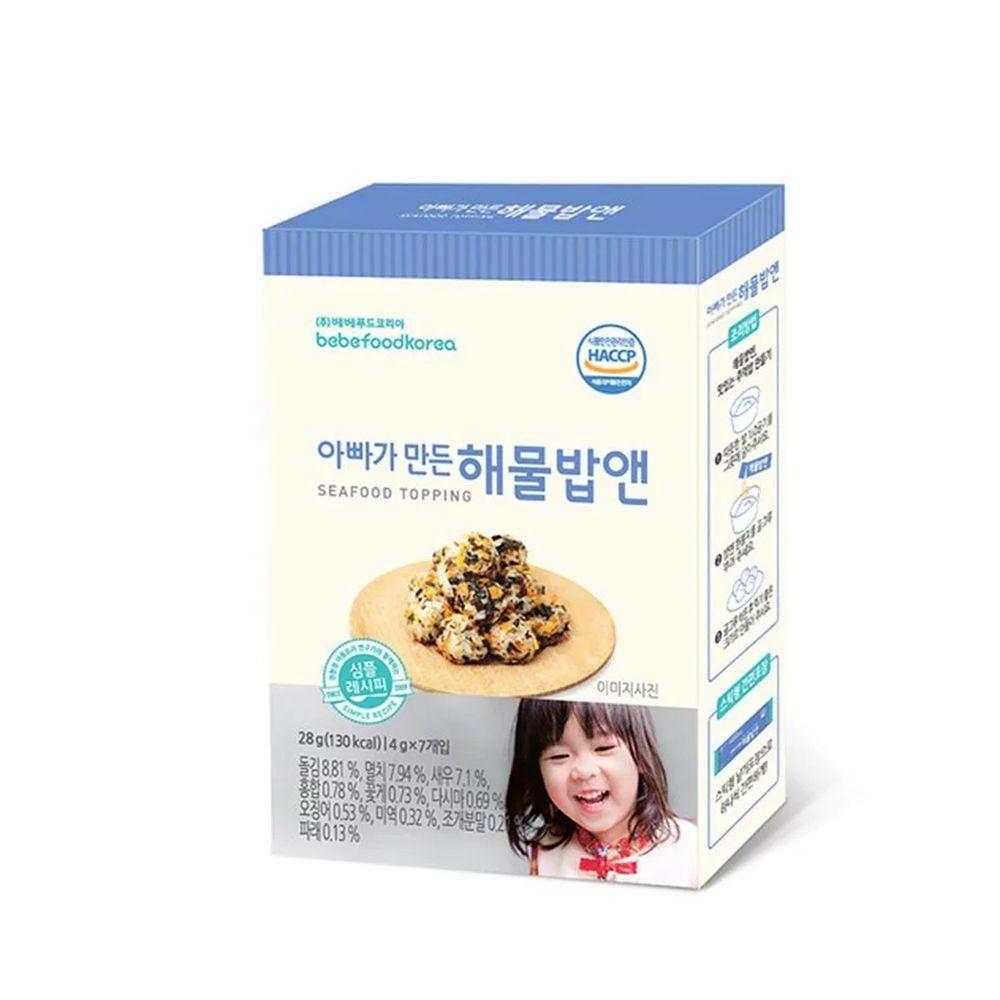 韓國bebefood寶寶福德 - 海味魚魷拌飯料