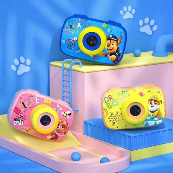 【汪汪隊正版授權】兒童相機,內建16種阿奇&天天相框