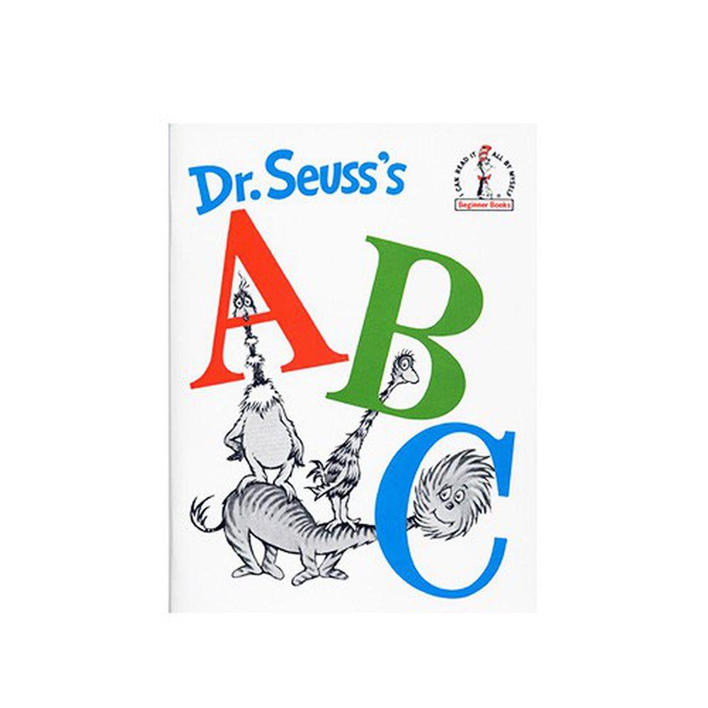 有聲書-DR SEUSS ABC/ /平裝繪本+CD