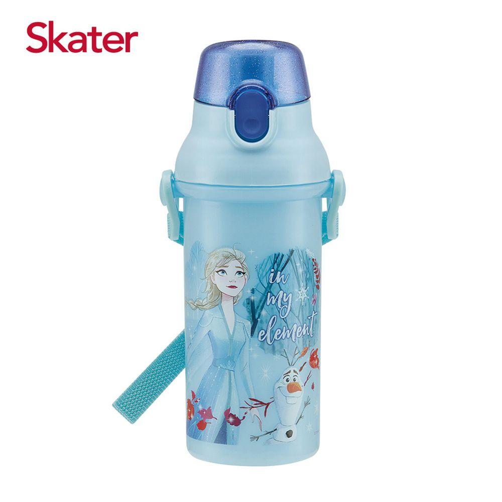 日本 SKATER - 兒童直飲冷水壺 (480ml)-艾莎與雪寶