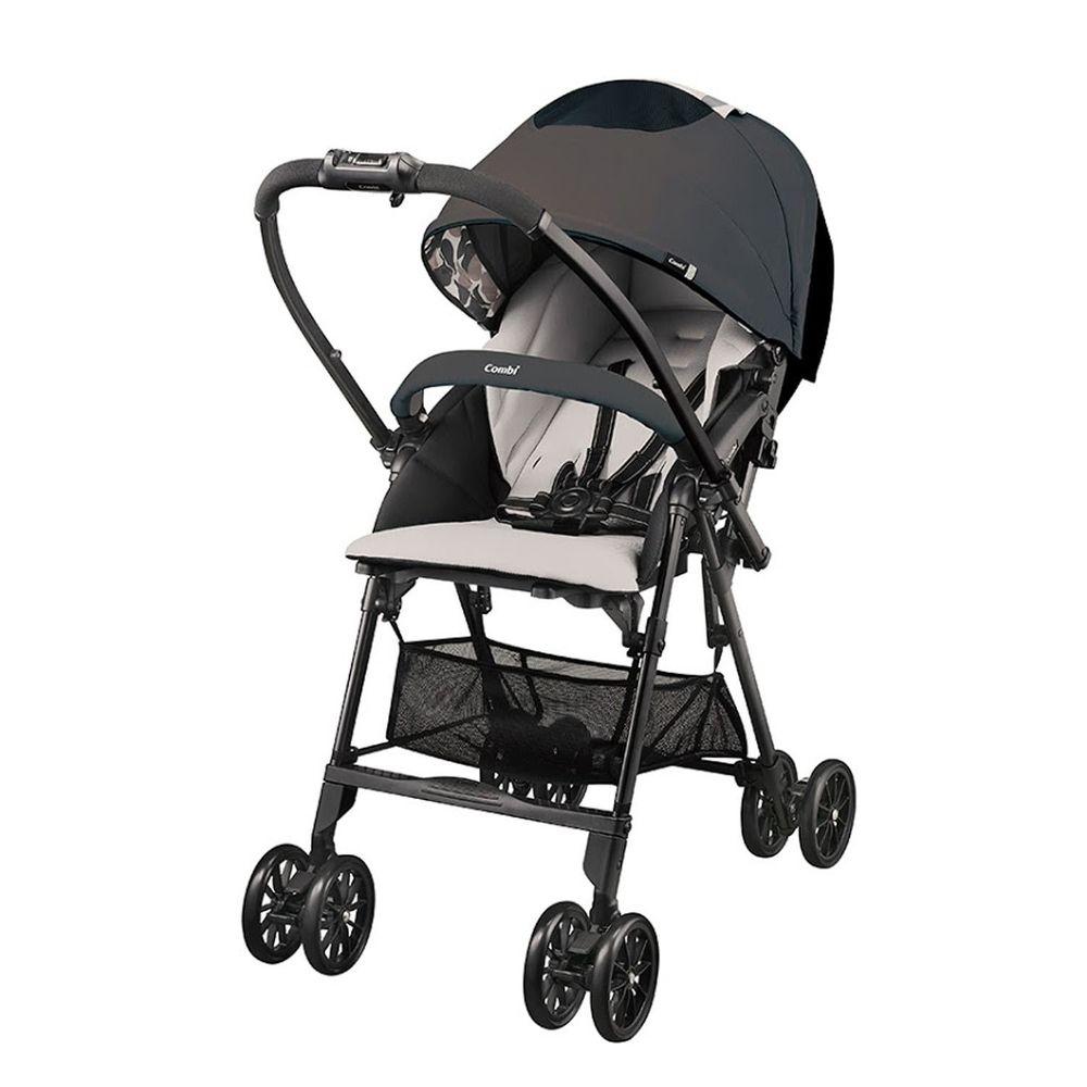 日本 Combi - Neyo 輕旅 嬰兒手推車-安全特仕版-狂想黑-福利品