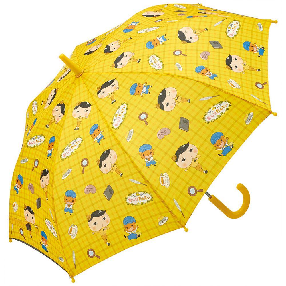 日本 SKATER 代購 - 兒童直傘(附安全反光貼條)-屁屁偵探 (55cm(130cm以上))