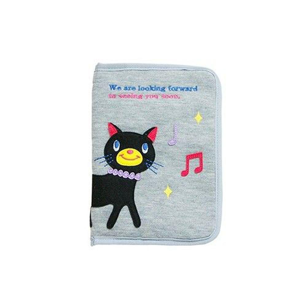 日本 KNICK KNACK - 母子手帳萬用手冊包-貓咪
