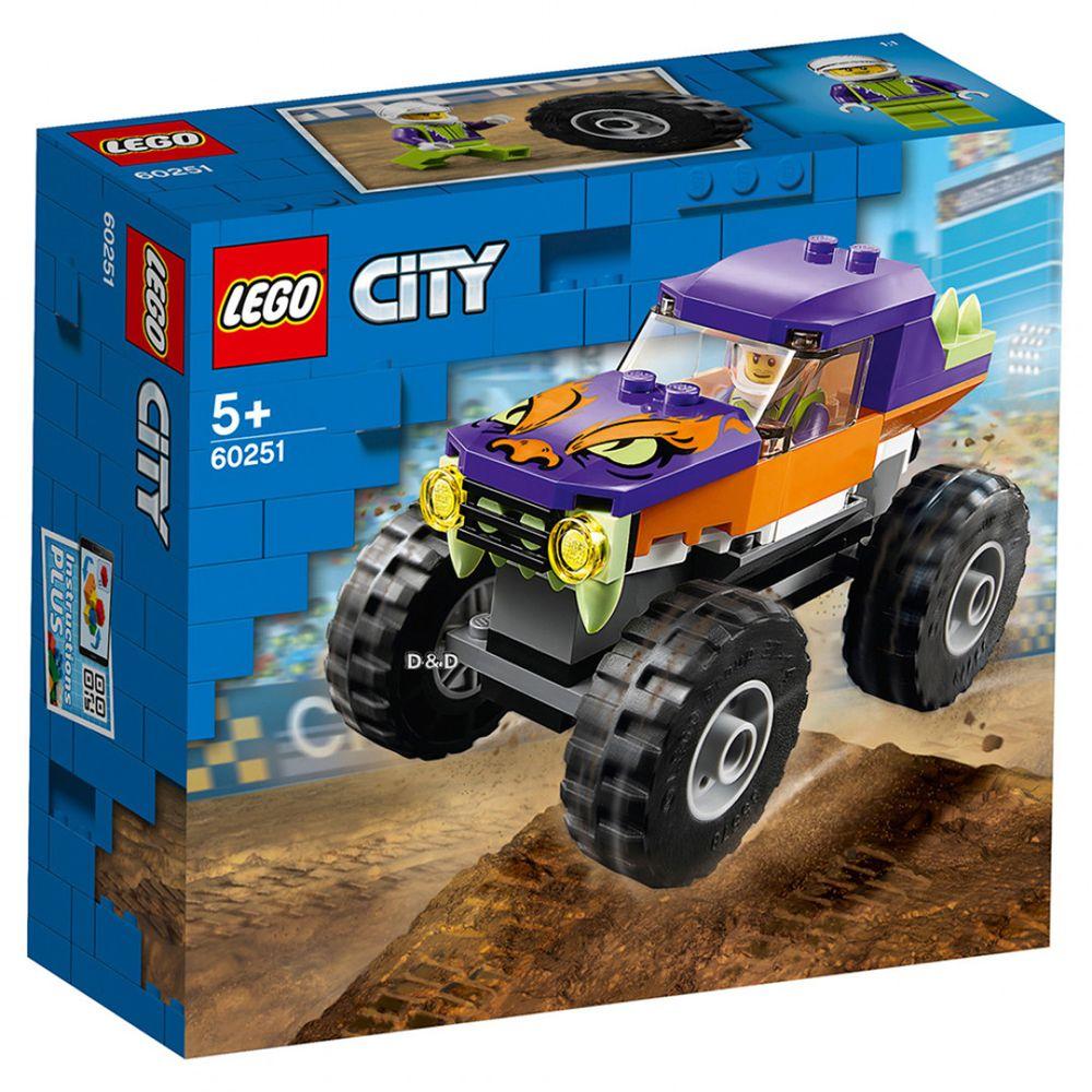 樂高 LEGO - 樂高 CITY 城市系列 - 怪獸卡車 60251-55pcs