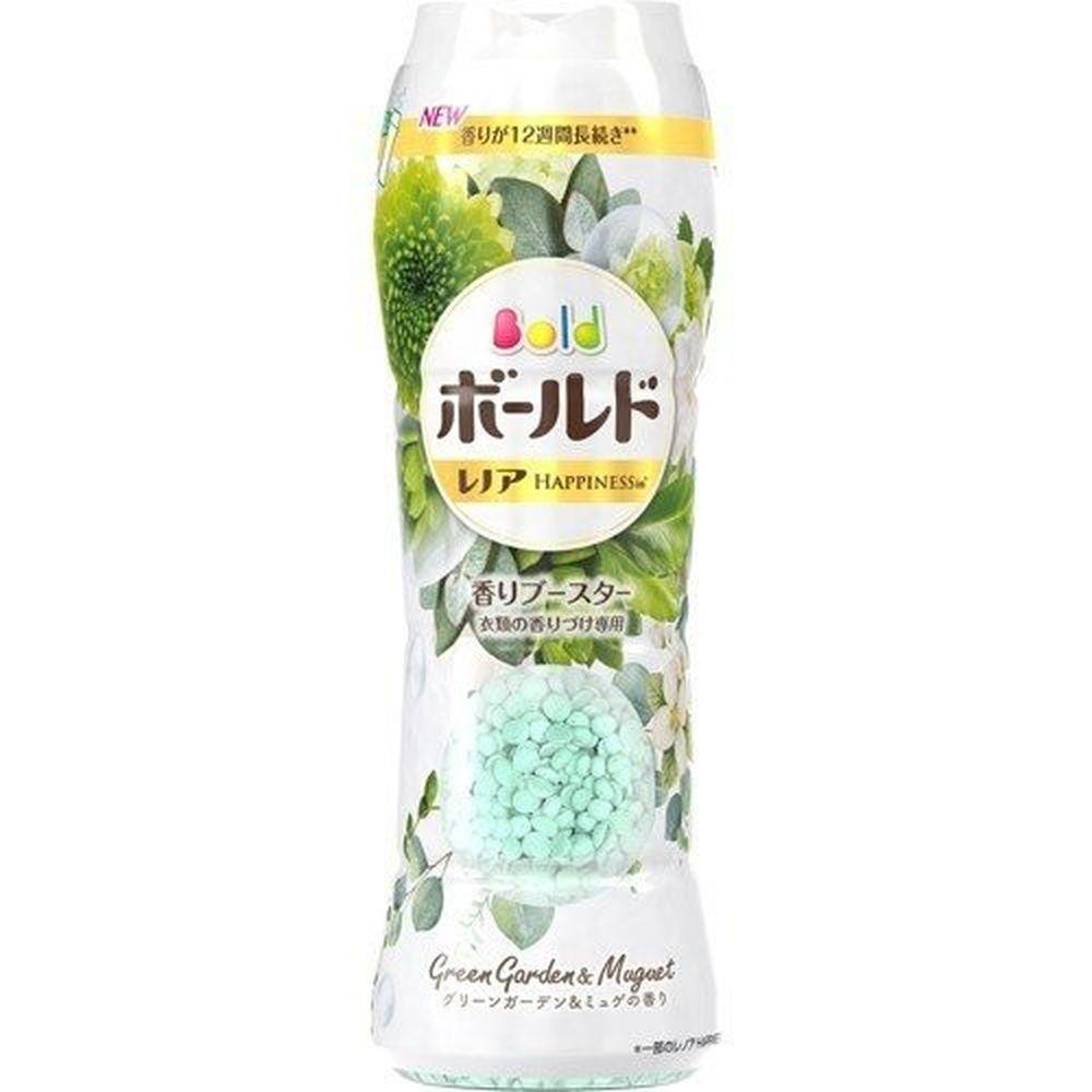 日本 P&G - 衣物芳香顆粒(香香豆)-白金花香-520ml
