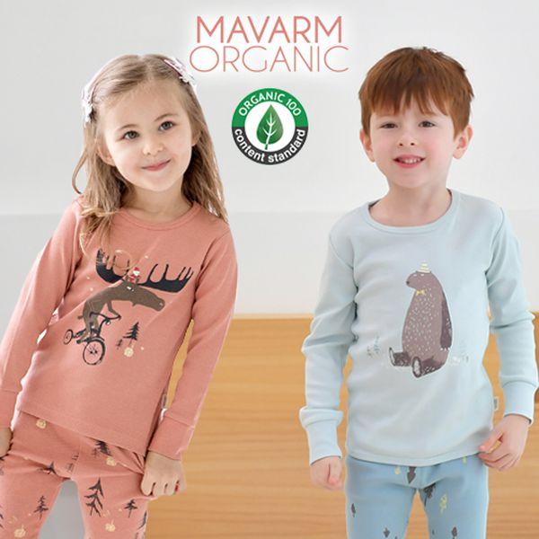 韓國 Mavarm 秋冬家居服♡ 有機棉整套不用$400!
