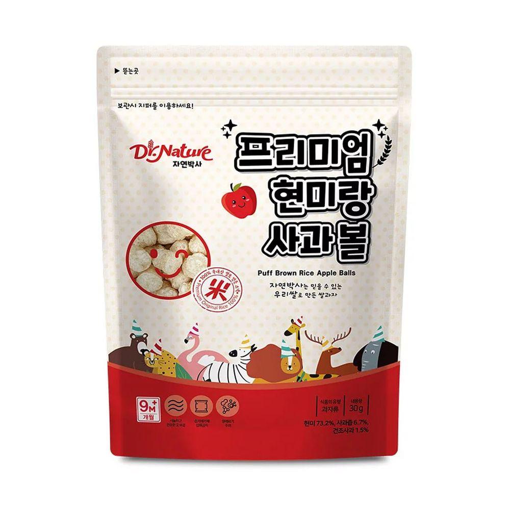 Dr.Nature米博士 - 動物嘉年華 蘋果球球餅-30g-9M+
