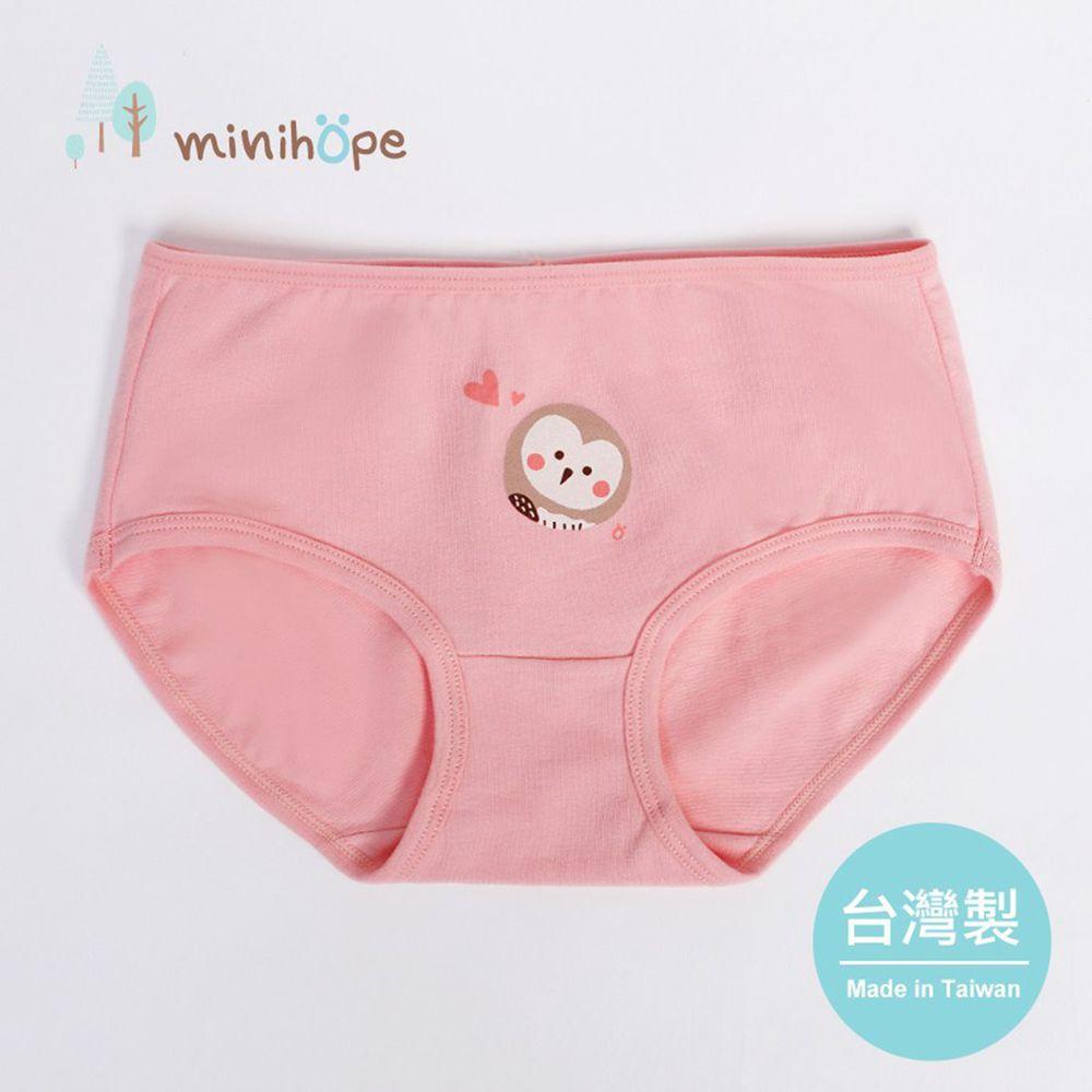 minihope美好的親子生活 - 草鴞的休憩時光女童三角褲