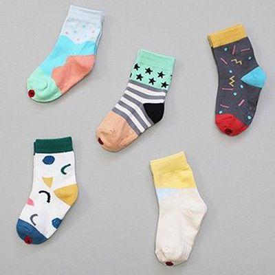 韓國製踝襪-五件組-Popping