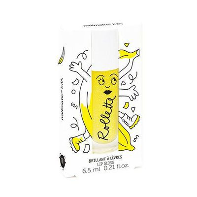 Nailmatic Kids法國兒童專用天然杏仁油透亮唇彩-香蕉-6.5ml