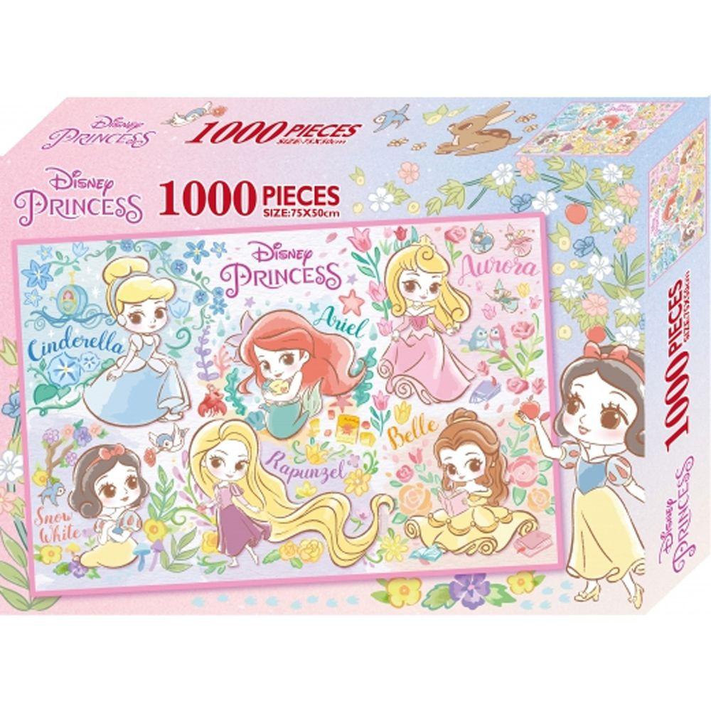 迪士尼公主 1000片盒裝拼圖(C)-迪士尼公主