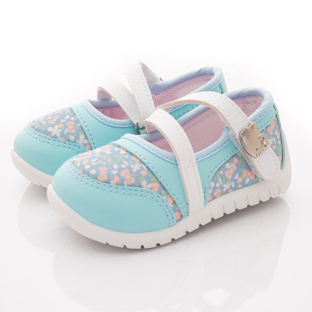 HELLO KITTY - 輕巧休閒娃娃鞋款(小童段)-水