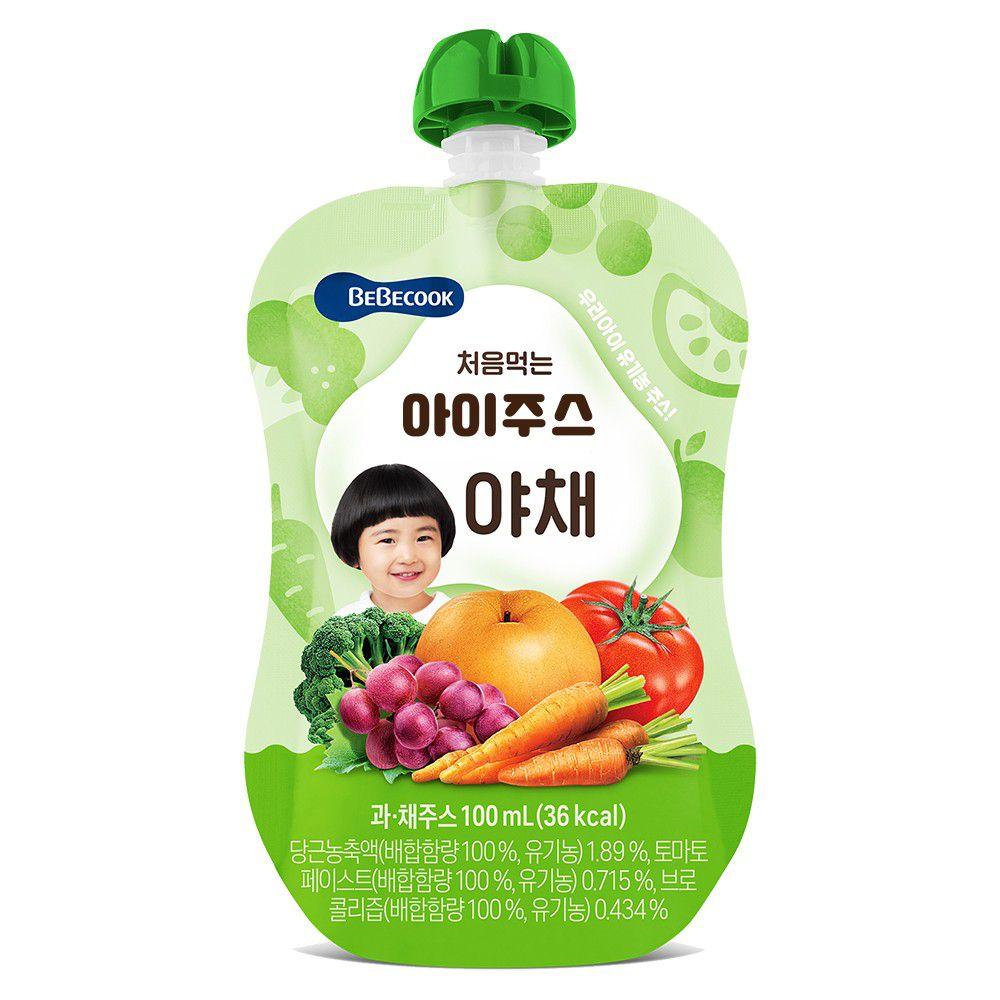 BEBECOOK 寶膳 - 智慧媽媽 嬰幼兒綜合蔬果汁(9M以上)