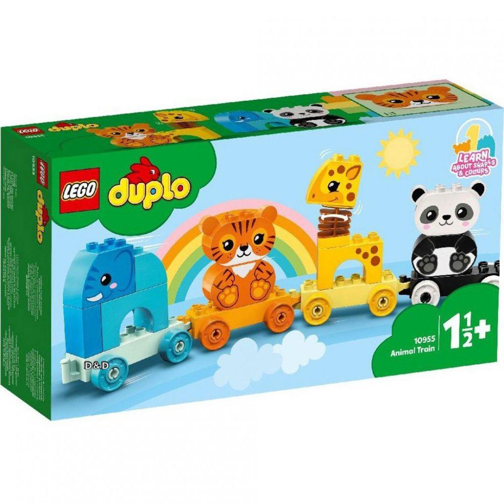 樂高 LEGO - 樂高積木 LEGO《 LT10955 》Duplo 得寶系列 -動物火車-15pcs