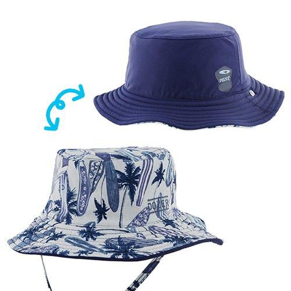 Millymook & Dozer - 陽光棕櫚雙面漁夫帽