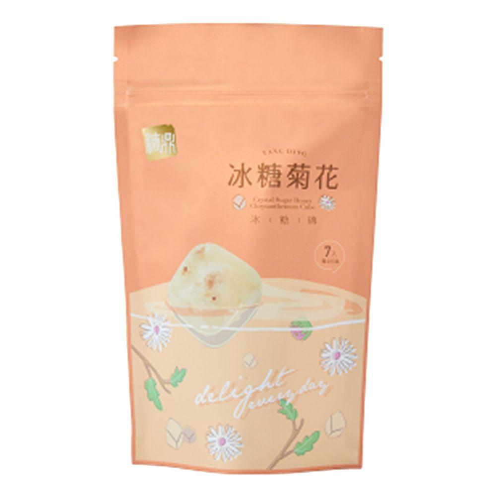 糖鼎黑糖磚 - 冰糖菊花-7入 (小)-30g*7入/包