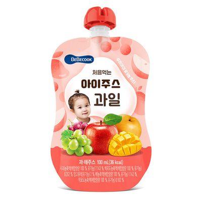 智慧媽媽 嬰幼兒綜合果汁(9M以上)
