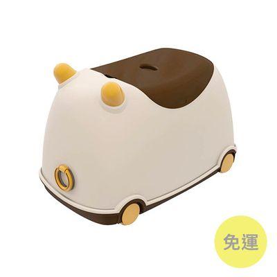 牛BUBU玩具收納車-卡布奇諾