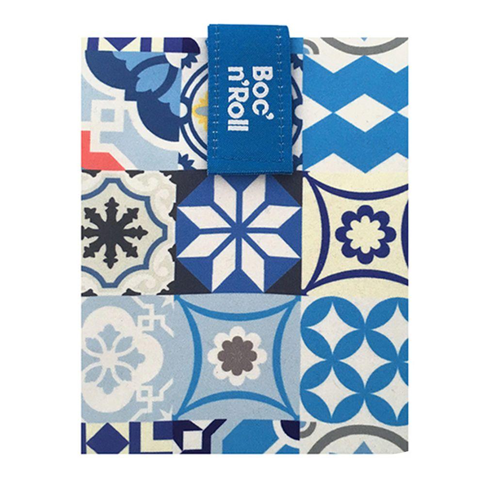 西班牙 Roll'eat - 西班牙搖滾輕食袋-拼布藍