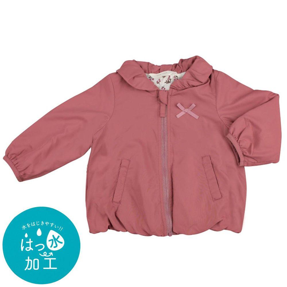 akachan honpo - 防潑水夾克-酒紅色