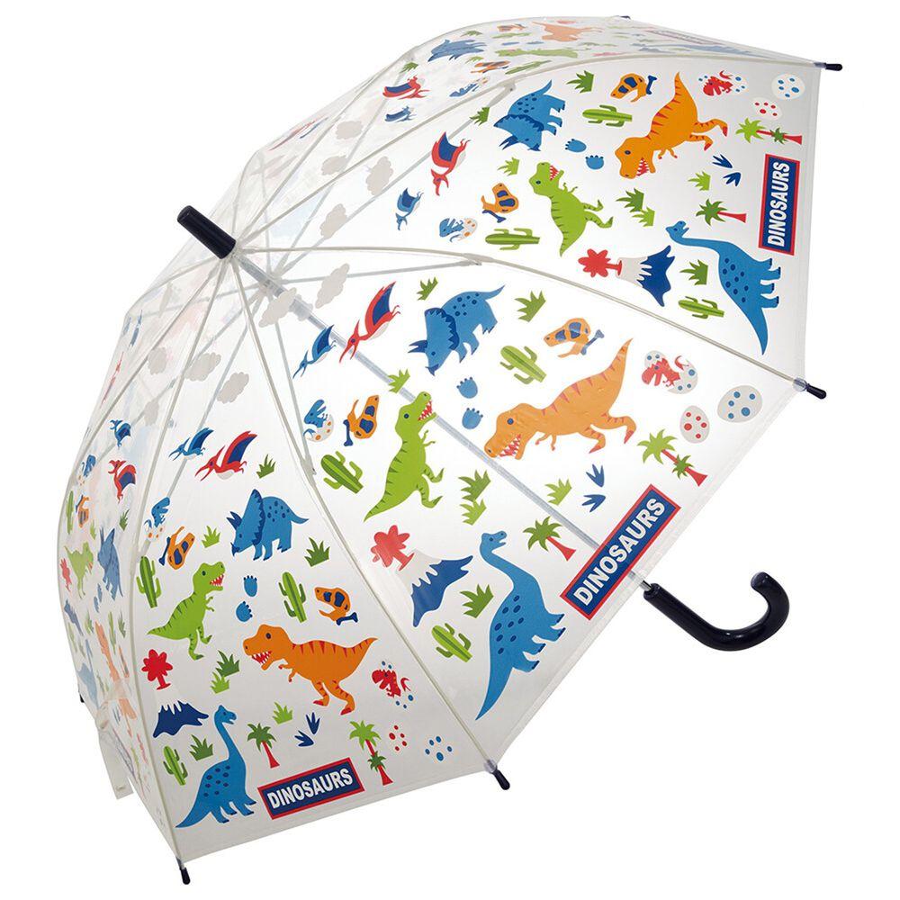 日本 SKATER 代購 - 兒童透明直傘-侏羅紀世界 (55cm(130cm以上))