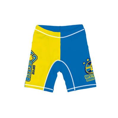 防UV運動型泳褲-藍x黃 (120cm)