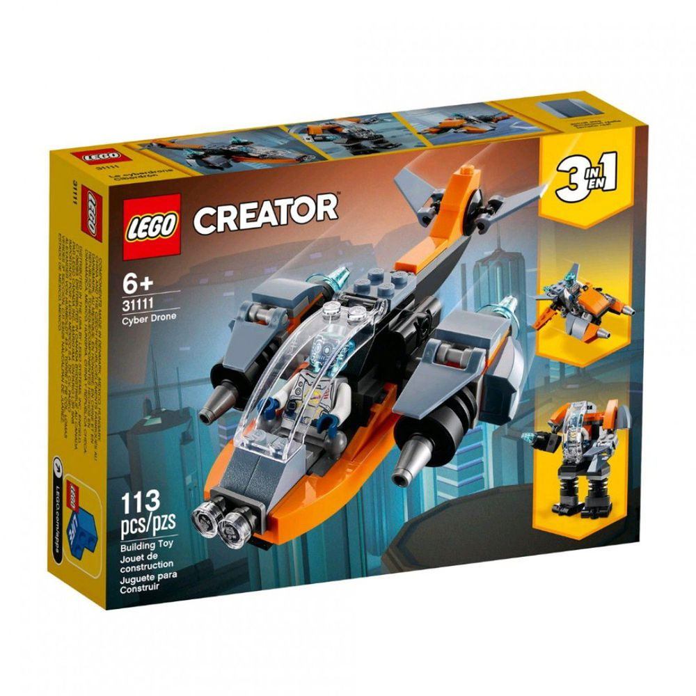 樂高 LEGO - 樂高積木 LEGO《 LT31111 》創意大師 Creator 系列 - 電子無人機-113pcs