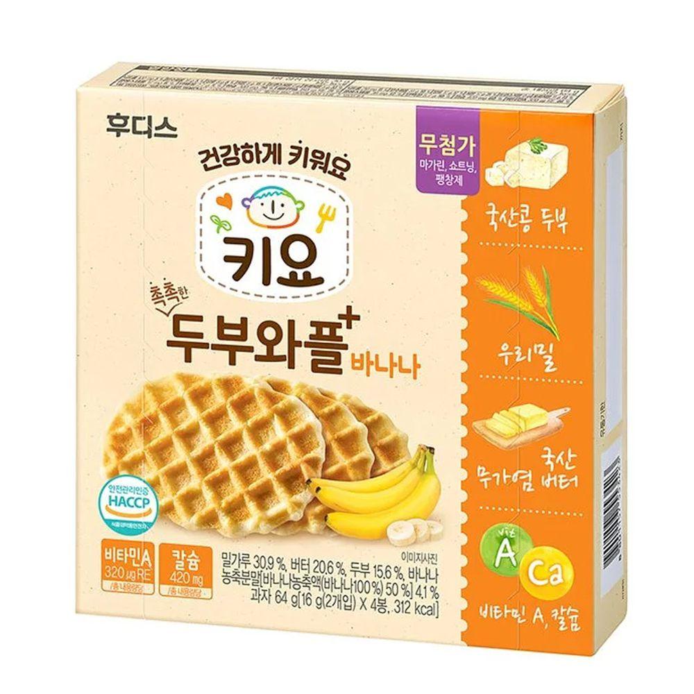 韓國Ildong Foodis日東 - 豆腐鬆餅餅乾-香蕉