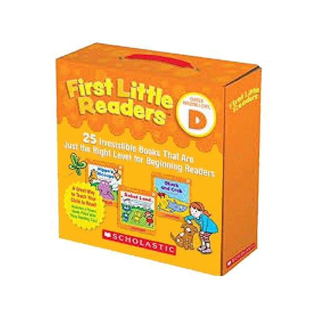 我的第一套小小閱讀文庫First Little Readers Level D-25本小書+2CD