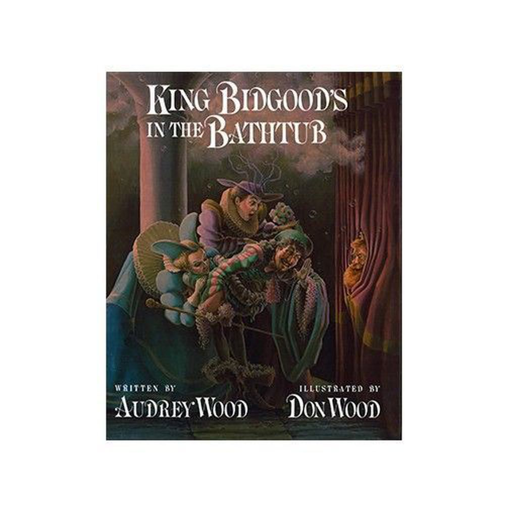 麥克兒童外文書店 - 有聲書-KING BIDGOODS IN BATHTUB/BK+CD