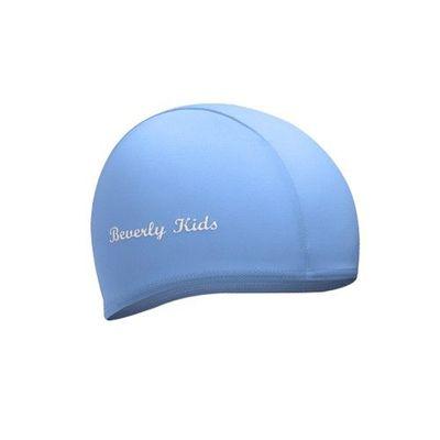 兒童泳帽-淡藍 (M [40~55cm])