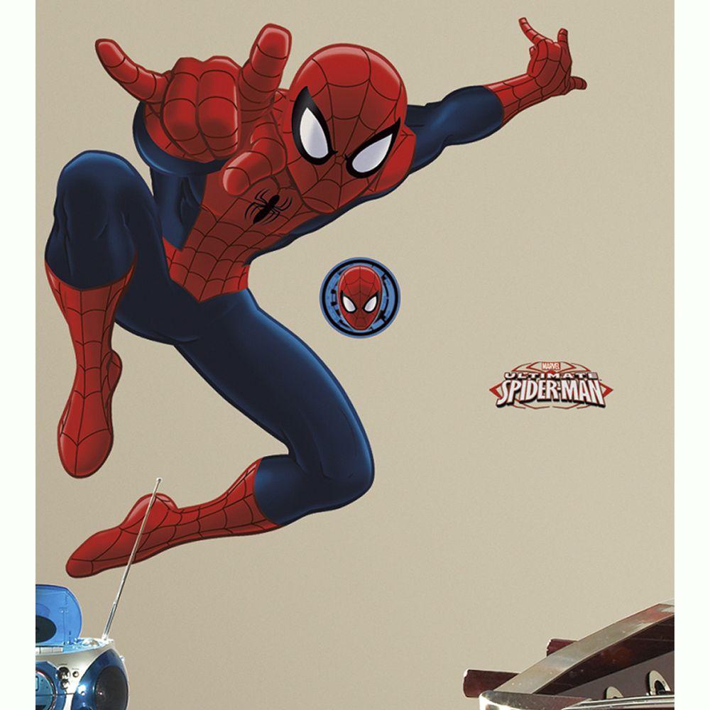 美國Roommates - 美國進口迪士尼壁貼-大蜘蛛人
