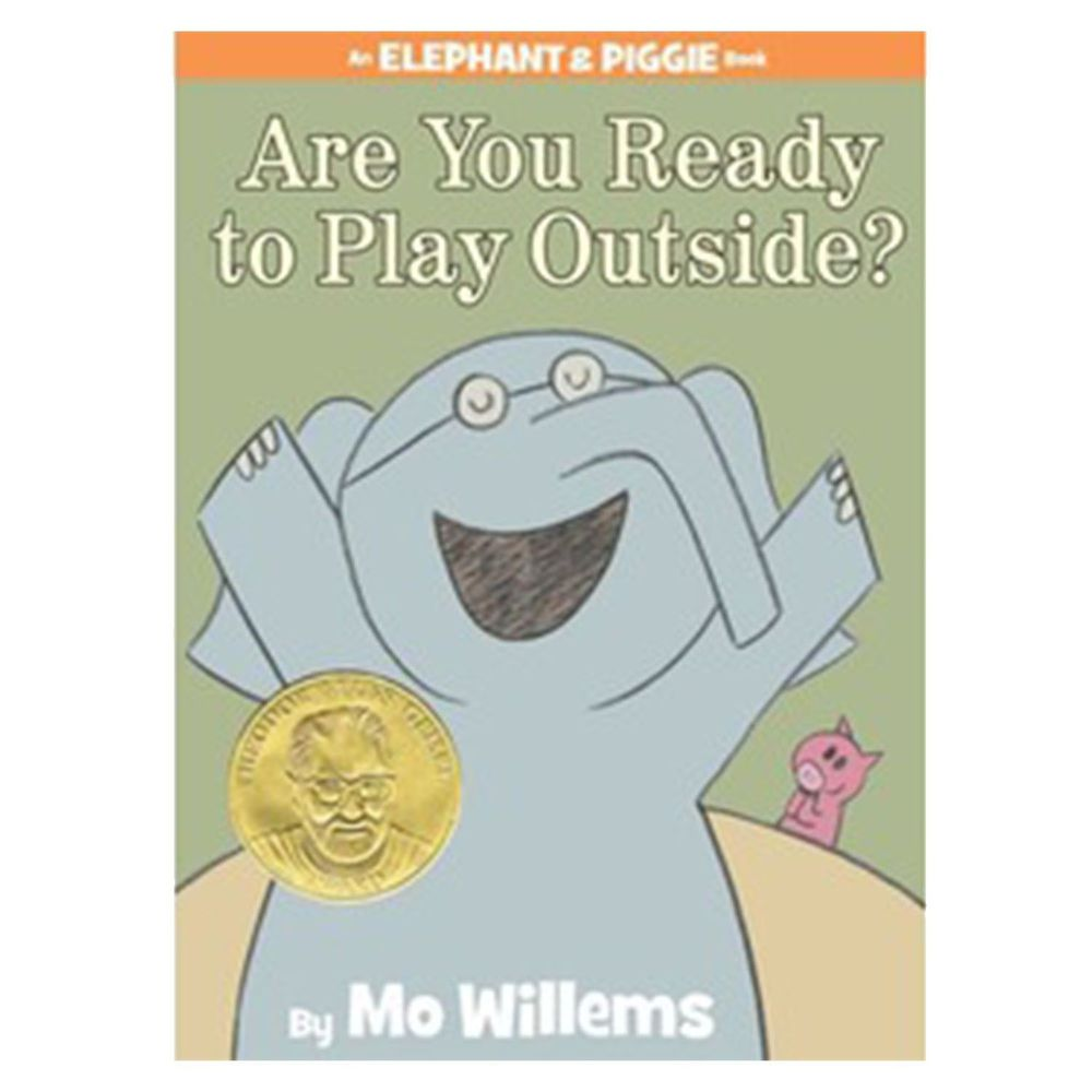 【得獎】Are You Ready to Play Outside? (An Elephant and Piggie Book) 要不要出去玩?