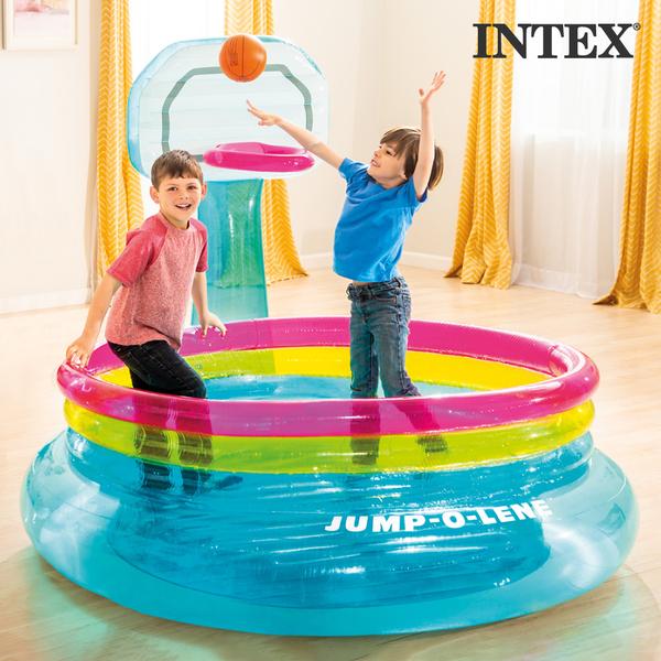 在家也能玩到瘋【美國INTEX】彈跳床、室內泳池