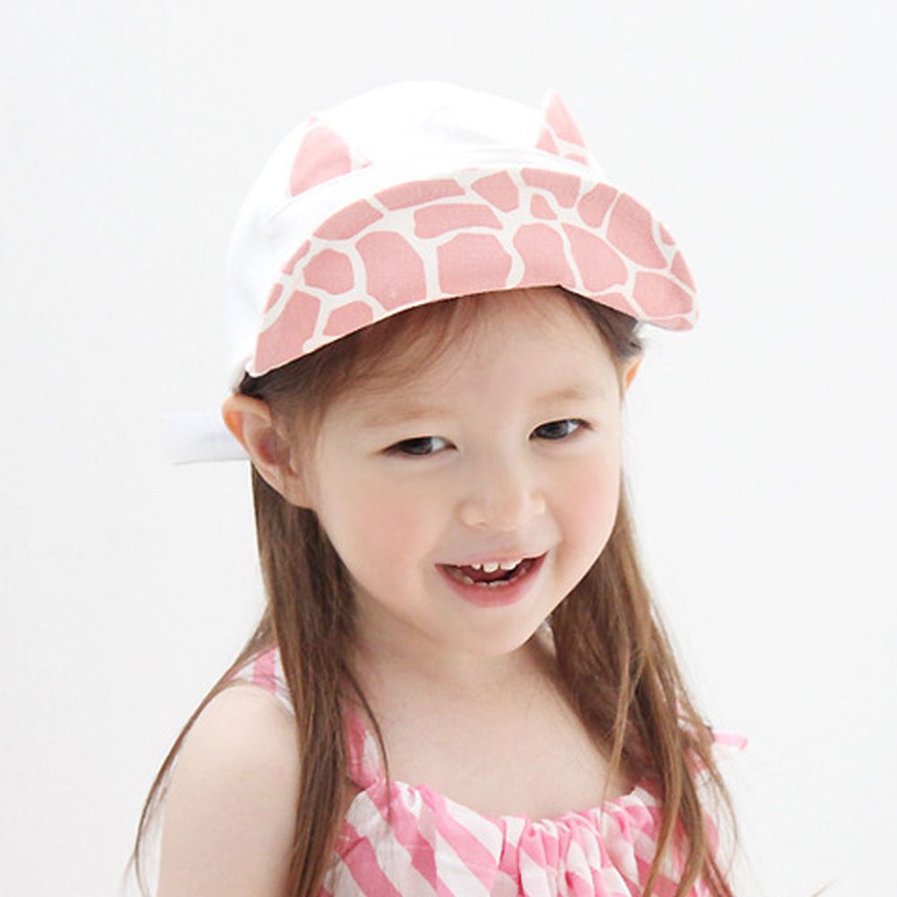 韓國 Babyblee - 挖洞乳牛棒球帽-白 (頭圍:49-54cm)