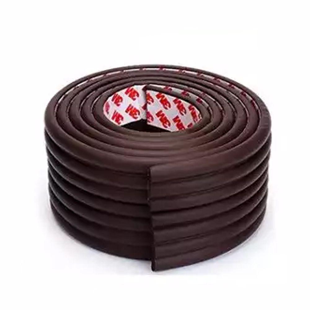 多功能自黏加厚加寬防撞條-2公尺*1入-紅棕-送自黏加厚防撞角4入