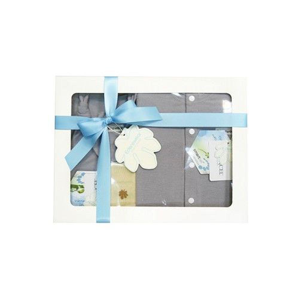 Edenswear 伊登詩 - 鋅纖維抗敏衣系列-寵愛彌月禮盒-灰色-五件組