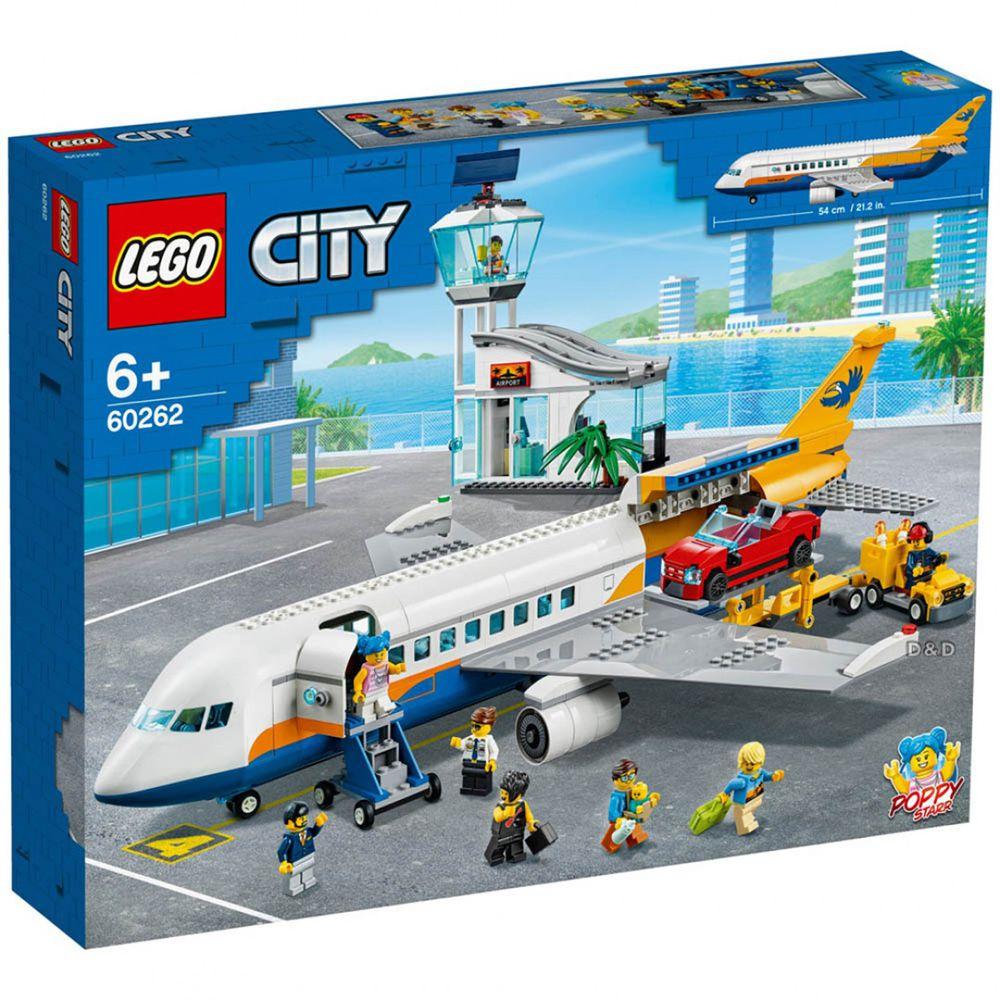 樂高 LEGO - 樂高積木 LEGO《 LT60262 》City 城市系列 - 城市客機-669pcs