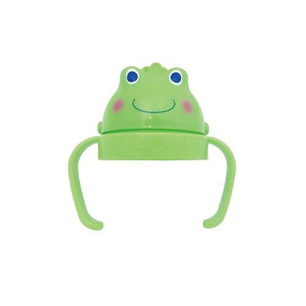 DOOBY 大眼蛙 - 卡通神奇喝水杯蓋組-250ml適用-綠色
