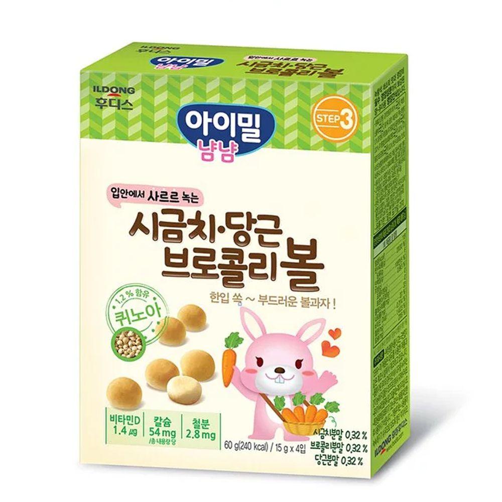 韓國Ildong Foodis日東 - 藜麥小饅頭-綜合蔬菜口味